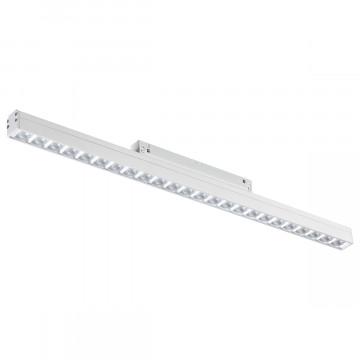 Светодиодный светильник для шинной системы Novotech Flum 358419, LED 24W 4000K 1920lm, белый, металл