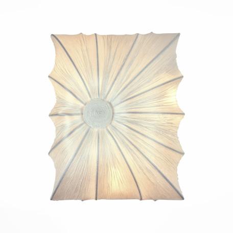 Настенный светильник ST Luce Tela SL356.551.03, 3xE27x40W, белый, металл, текстиль