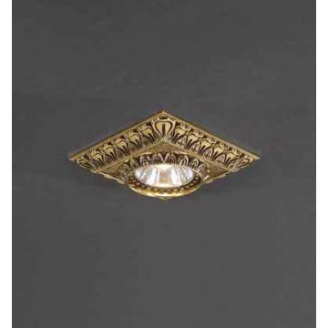 Встраиваемый светильник Reccagni Angelo SPOT 1083 Oro
