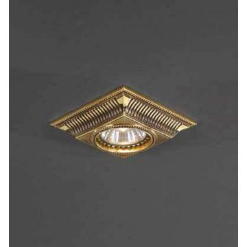 Встраиваемый светильник Reccagni Angelo SPOT 1084 Oro