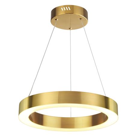 Подвесной светодиодный светильник Odeon Light L-Vision Brizzi 3885/25LG, LED 25W 4000K 1680lm, золото, металл