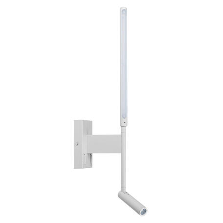 Настенный светодиодный светильник с регулировкой направления света Loft It Stick 10012/6+3WH, LED 12W 3200K, белый, металл