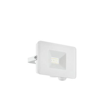 Светодиодный прожектор Eglo Faedo 3 33152, IP65, LED 10W 5000K 900lm, белый, металл, металл со стеклом, стекло