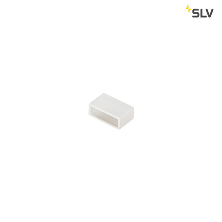 Изолирующая заглушка для светодиодных лент SLV FLEXLED ROLL IP55 1002400, IP55, белый