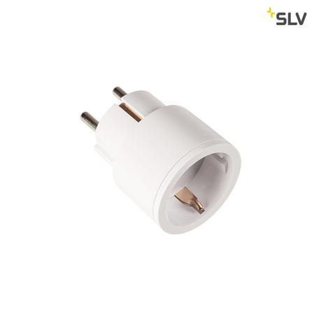 Штекерный радиовыключатель с розеткой SLV CONTROL BY TRUST 1002409, белый