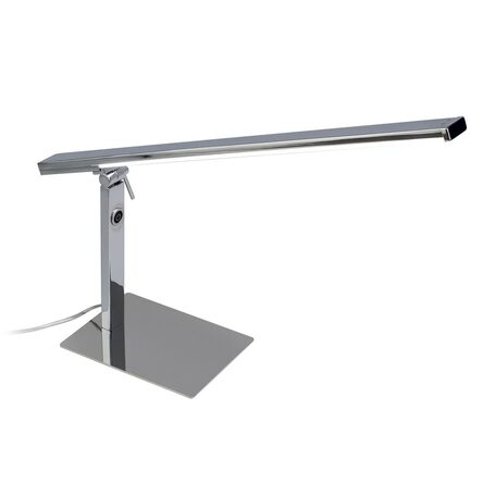 Настольная светодиодная лампа Citilux Джек CL226831, LED 12W 3000-3200K 910lm, хром, металл