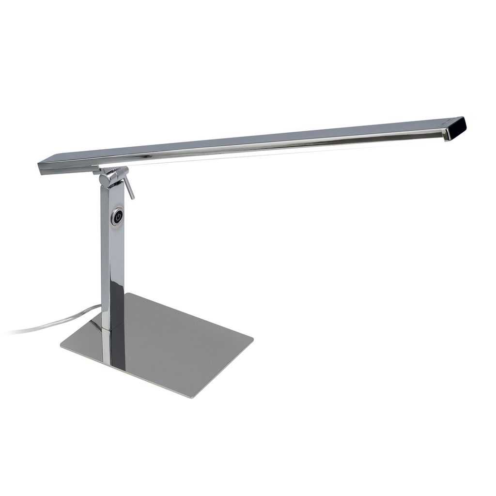Настольная светодиодная лампа Citilux Джек CL226831 3000-3200K, хром, белый, металл, пластик - фото 1