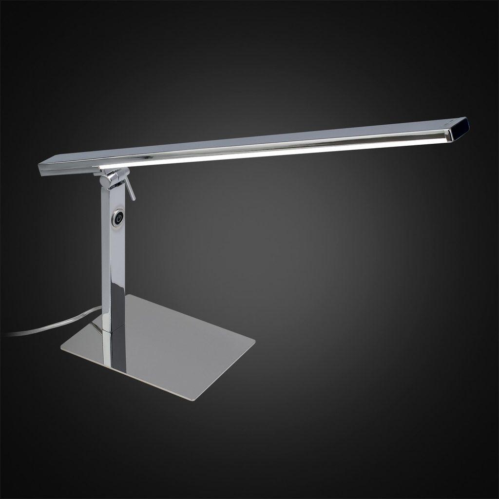 Настольная светодиодная лампа Citilux Джек CL226831 3000-3200K, хром, белый, металл, пластик - фото 2