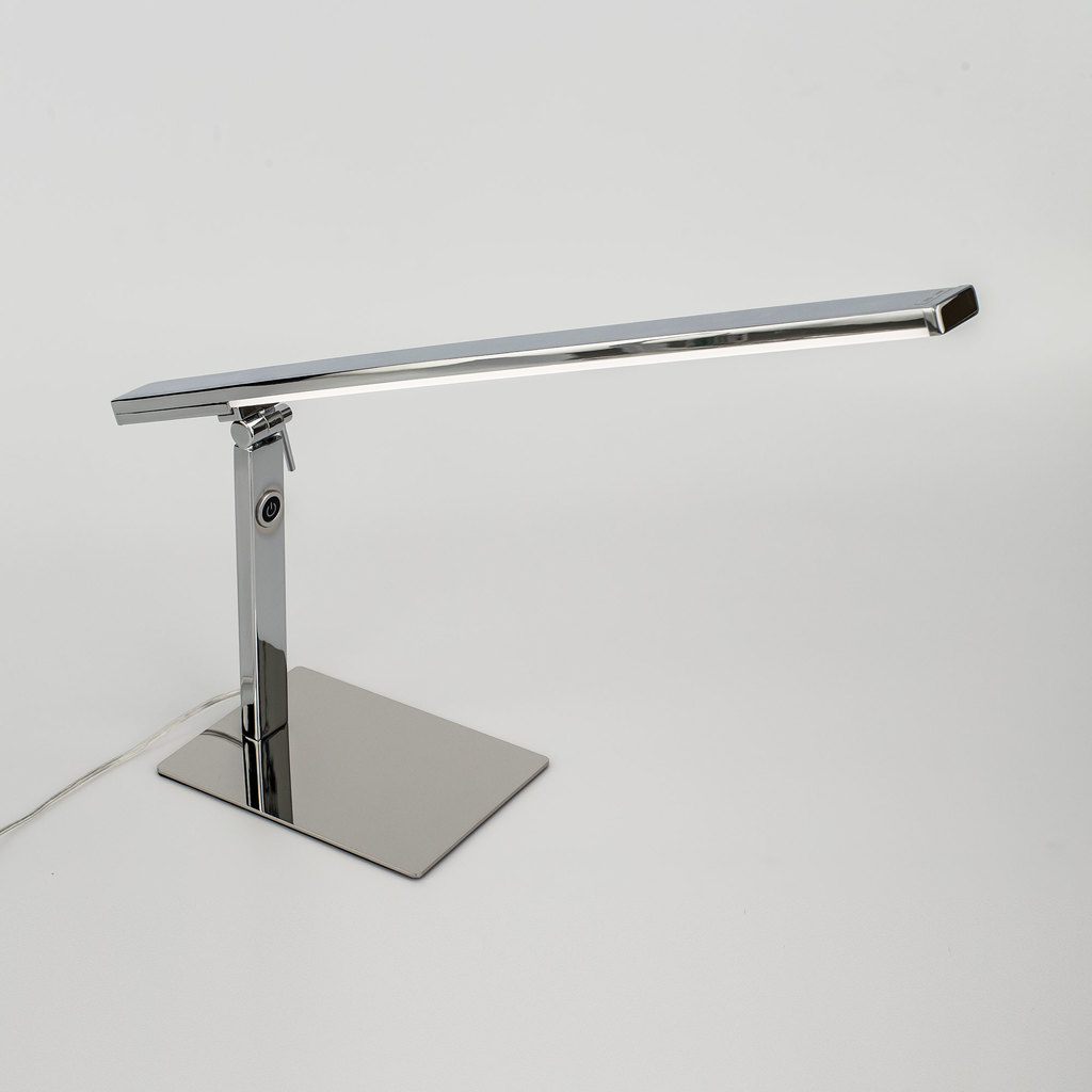 Настольная светодиодная лампа Citilux Джек CL226831 3000-3200K, хром, белый, металл, пластик - фото 3