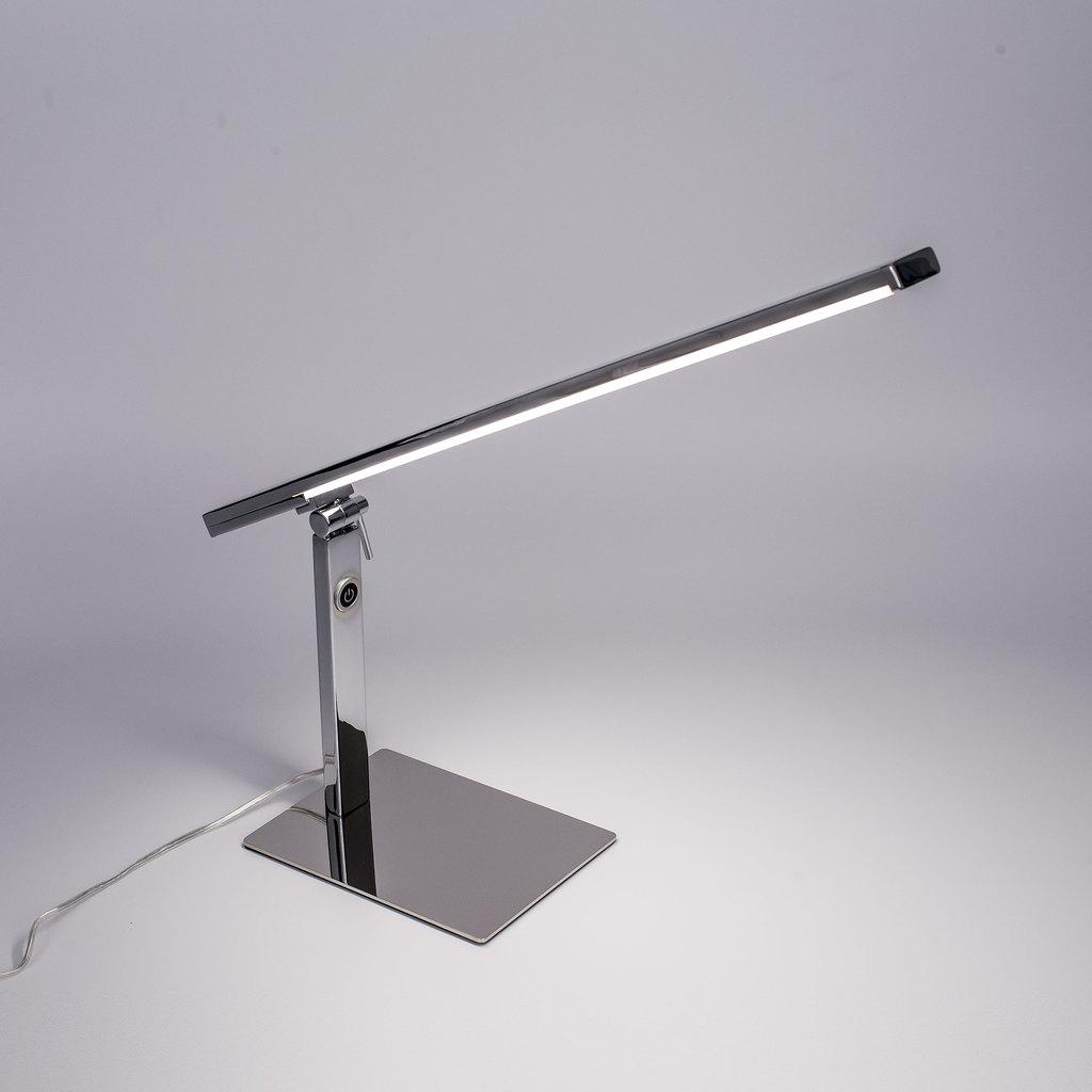 Настольная светодиодная лампа Citilux Джек CL226831 3000-3200K, хром, белый, металл, пластик - фото 5