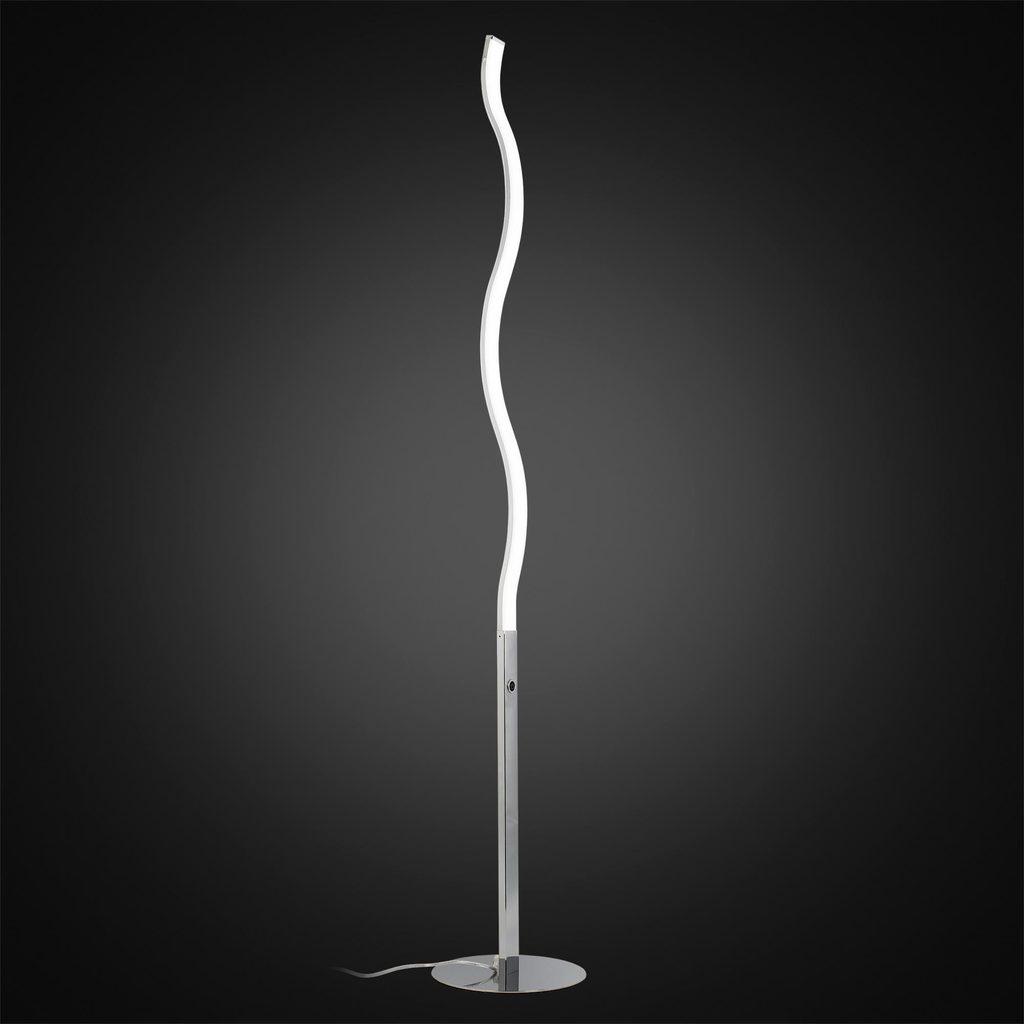 Светодиодный торшер Citilux Джек CL226911, LED 27W 3000-3200K 1820lm, хром, металл, пластик - фото 2