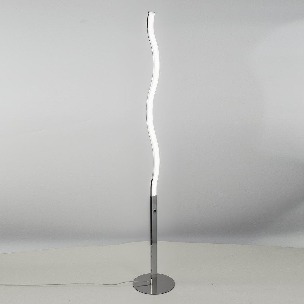 Светодиодный торшер Citilux Джек CL226911, LED 27W 3000-3200K 1820lm, хром, металл, пластик - фото 3