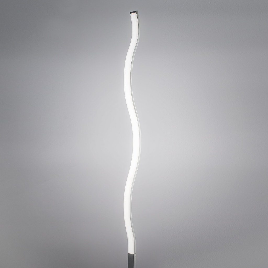 Светодиодный торшер Citilux Джек CL226911, LED 27W 3000-3200K 1820lm, хром, металл, пластик - фото 5