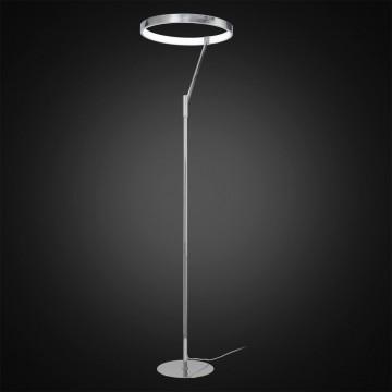 Светодиодный торшер Citilux Джек CL226921, LED 36W 3000-3200K 1080lm, хром, металл, металл с пластиком - миниатюра 2