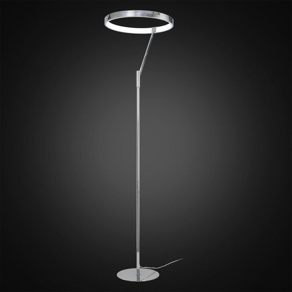 Светодиодный торшер Citilux Джек CL226921, LED 36W 3000-3200K 1080lm, хром, металл, металл с пластиком - фото 2