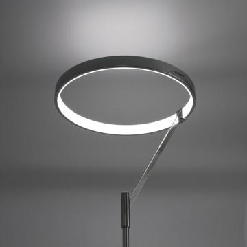 Светодиодный торшер Citilux Джек CL226921, LED 36W 3000-3200K 1080lm, хром, металл, металл с пластиком - миниатюра 3
