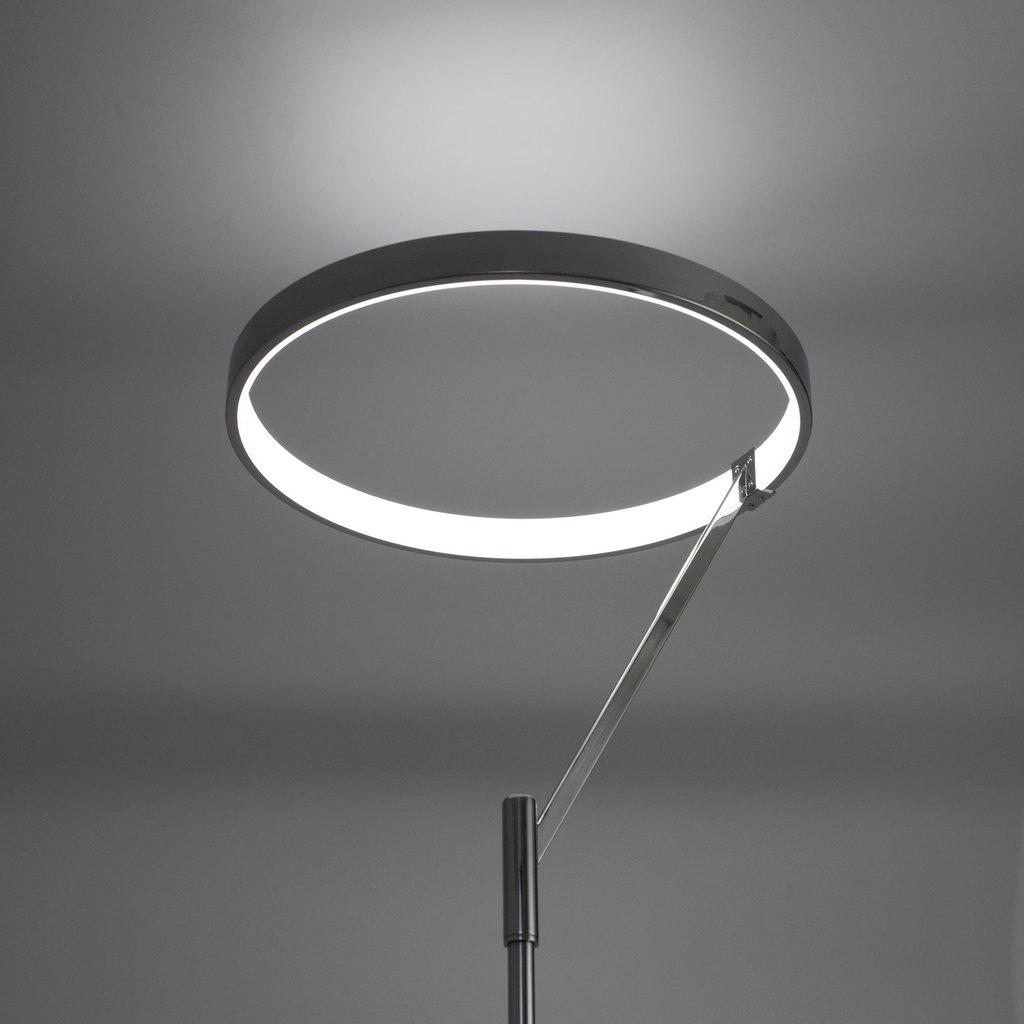 Светодиодный торшер Citilux Джек CL226921, LED 36W 3000-3200K 1080lm, хром, металл, металл с пластиком - фото 3