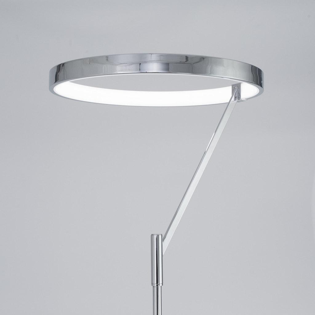 Светодиодный торшер Citilux Джек CL226921, LED 36W 3000-3200K 1080lm, хром, металл, металл с пластиком - фото 4