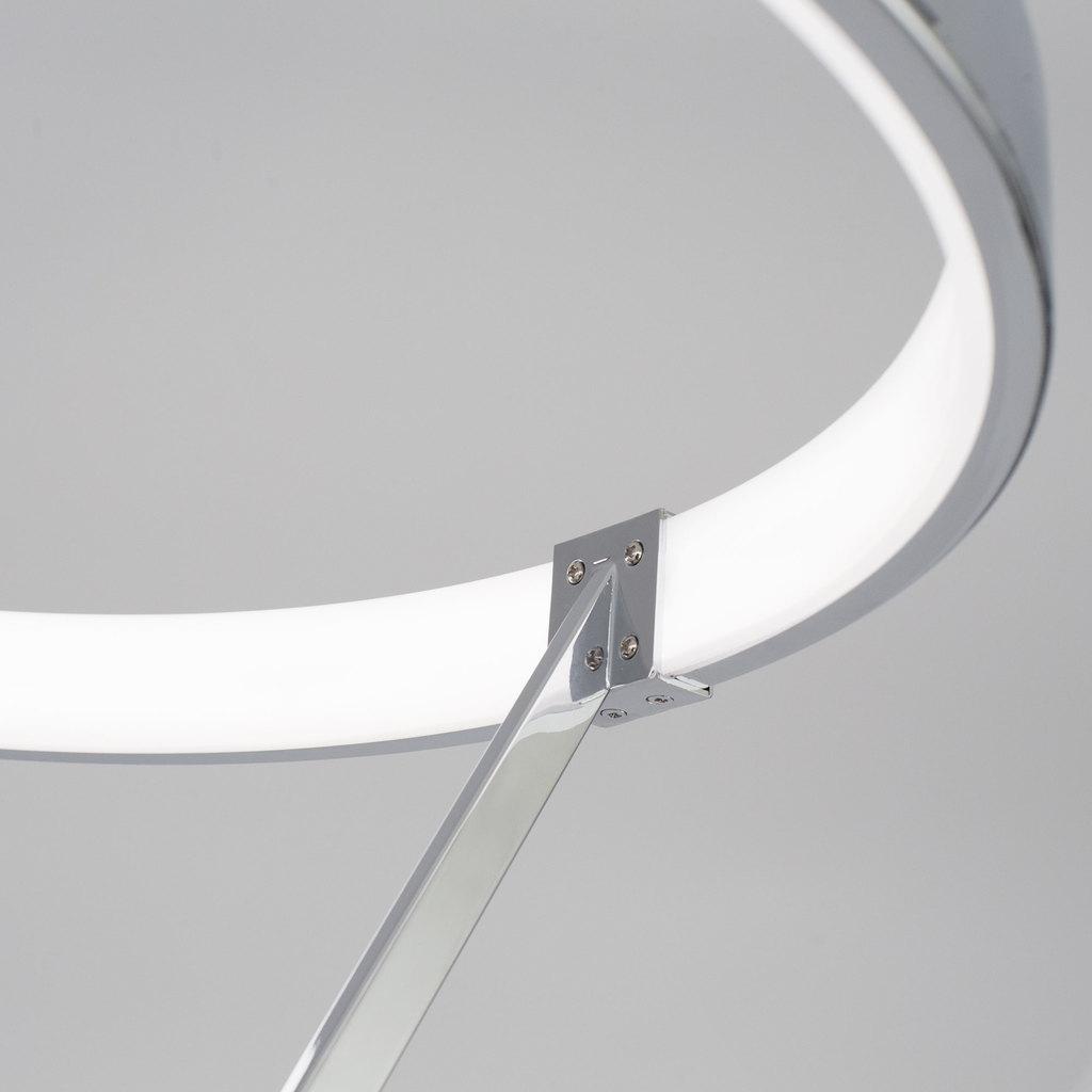 Светодиодный торшер Citilux Джек CL226921, LED 36W 3000-3200K 1080lm, хром, металл, металл с пластиком - фото 5