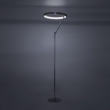 Светодиодный торшер Citilux Джек CL226921, LED 36W 3000-3200K 1080lm, хром, металл, металл с пластиком - миниатюра 9