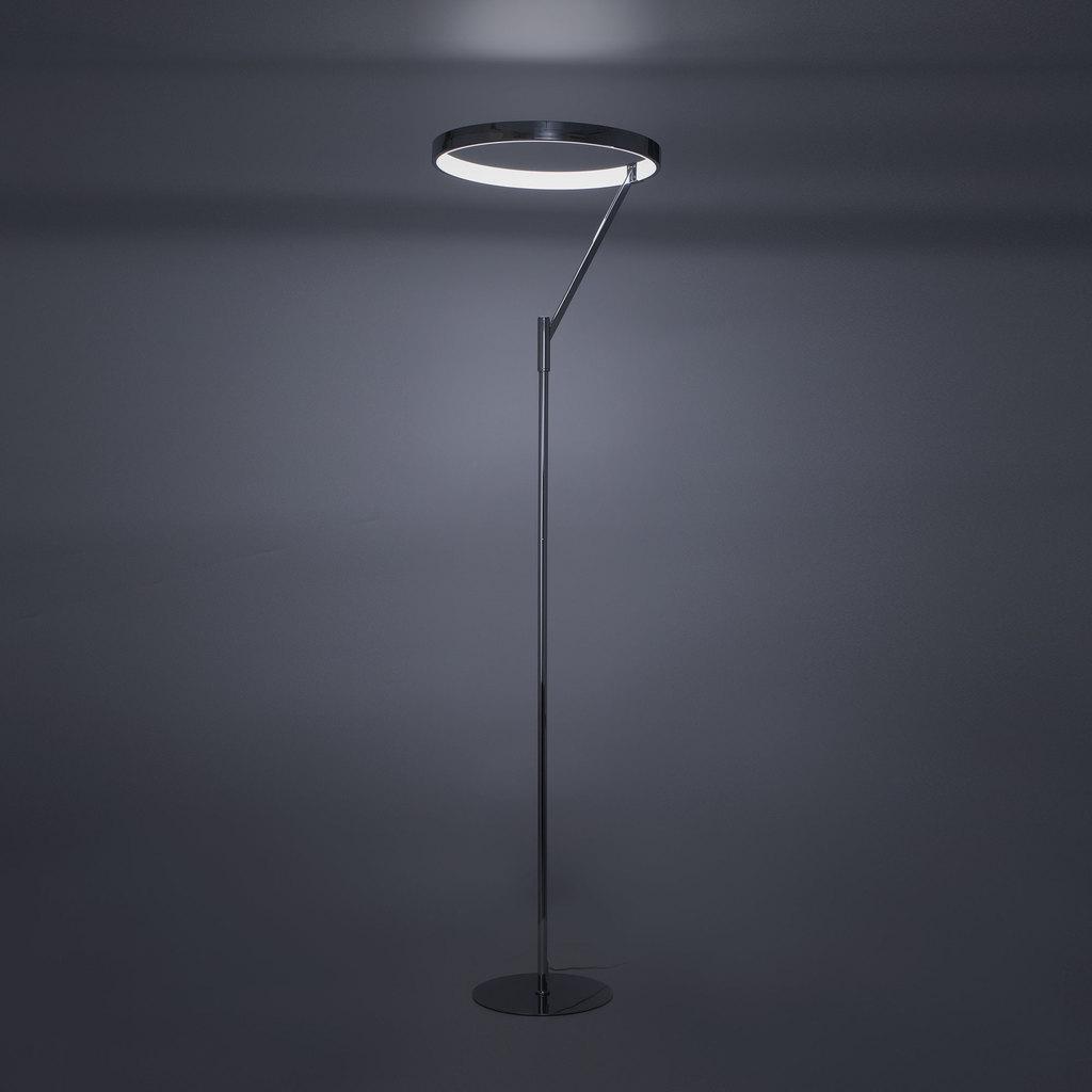 Светодиодный торшер Citilux Джек CL226921, LED 36W 3000-3200K 1080lm, хром, металл, металл с пластиком - фото 9
