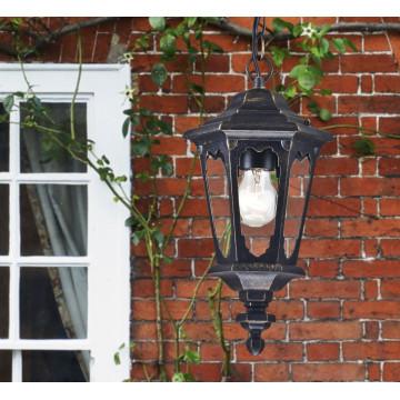 Подвесной светильник Maytoni Oxford S101-10-41-B, IP44, 1xE27x60W, черный, прозрачный, металл, металл со стеклом - миниатюра 5