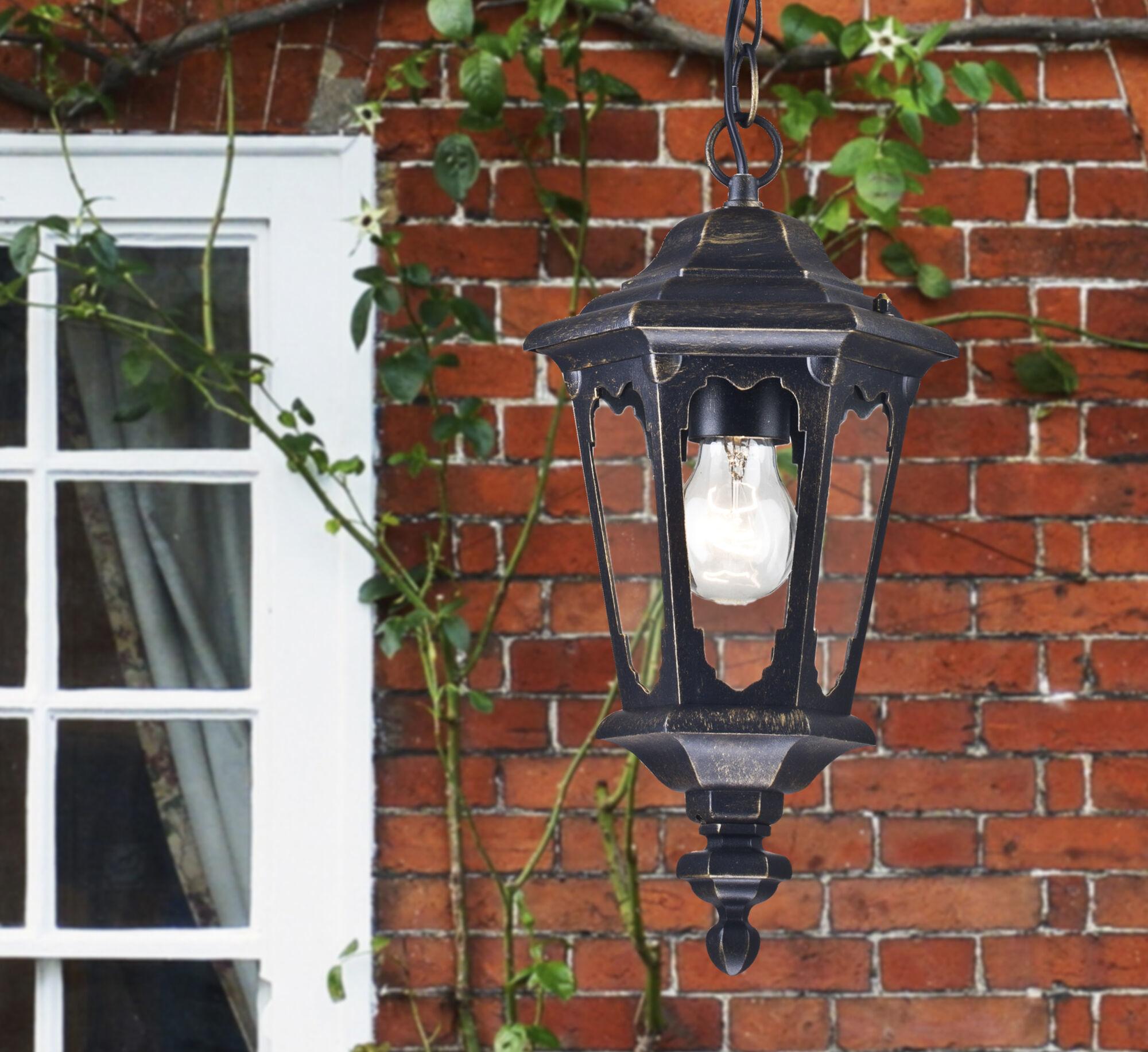 Подвесной светильник Maytoni Oxford S101-10-41-B, IP44, 1xE27x60W, черный, прозрачный, металл, металл со стеклом - фото 5