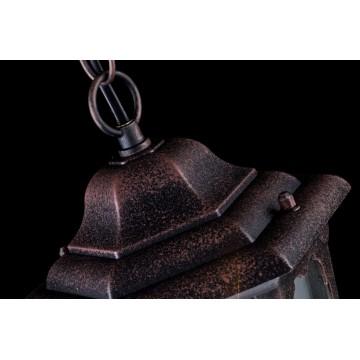 Подвесной светильник Maytoni Oxford S101-10-41-B, IP44, 1xE27x60W, черный, прозрачный, металл, стекло - миниатюра 6