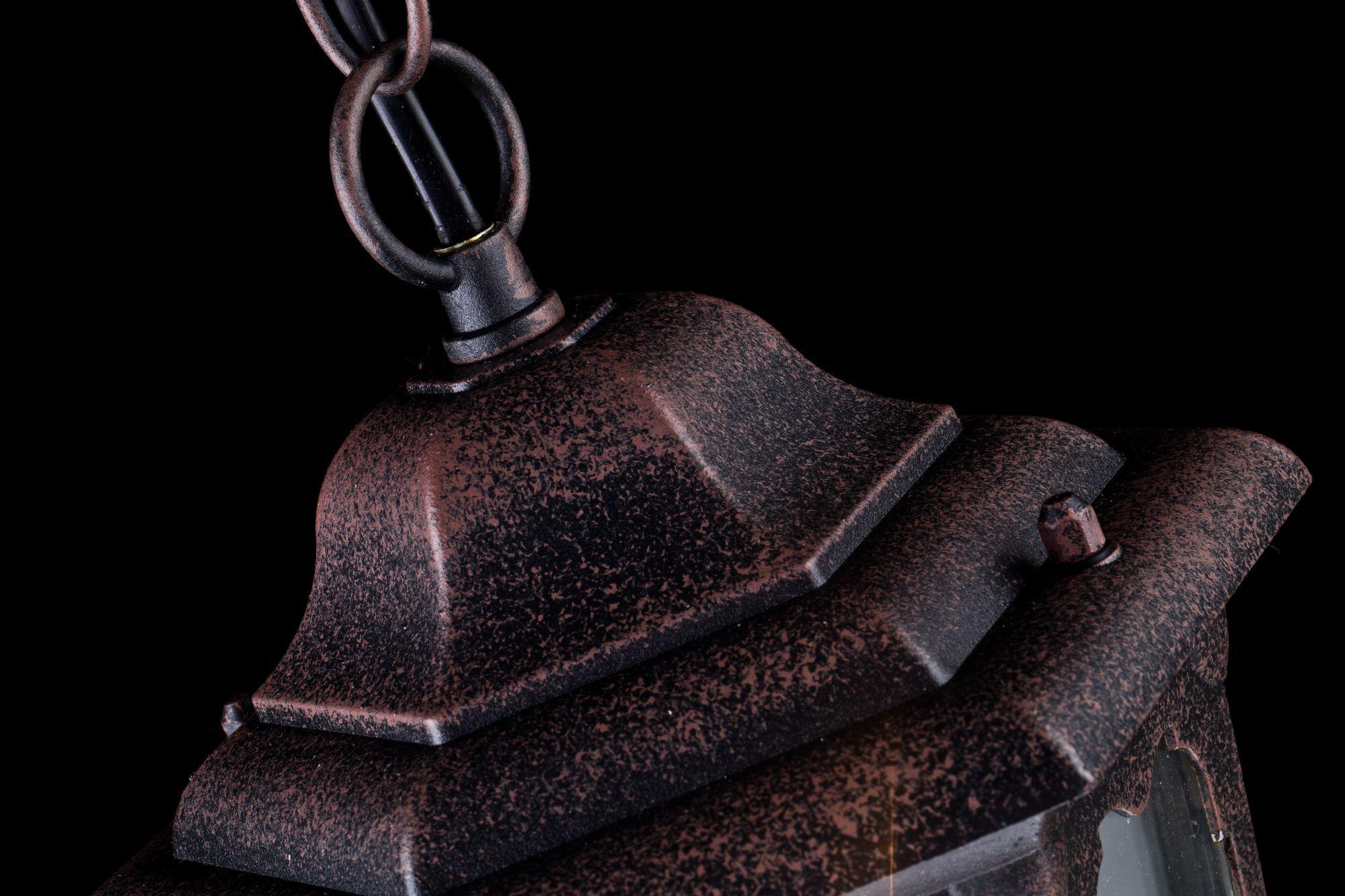 Подвесной светильник Maytoni Oxford S101-10-41-B, IP44, 1xE27x60W, черный, прозрачный, металл, металл со стеклом - фото 6