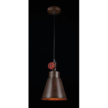 Подвесной светильник Maytoni Valve T020-01-R, 1xE27x60W, коричневый, металл - миниатюра 3