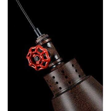 Подвесной светильник Maytoni Valve T020-01-R, 1xE27x60W, коричневый, металл - миниатюра 4