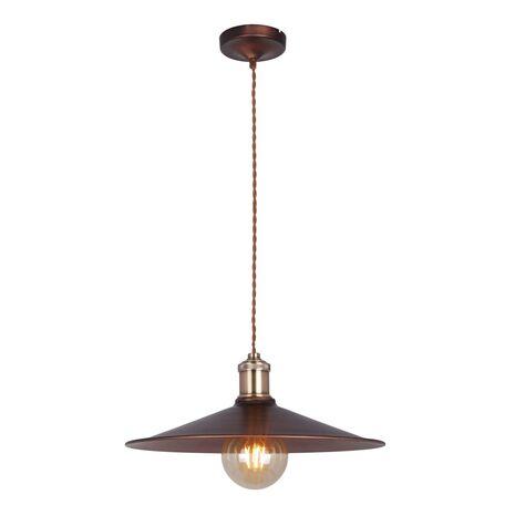 Подвесной светильник Maytoni Jingle T028-01-R, 1xE27x60W, бронза, коричневый, металл