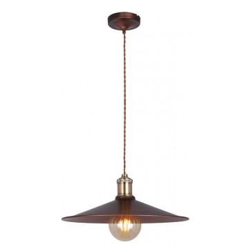 Подвесной светильник Maytoni Jingle T028-01-R, 1xE27x60W, коричневый, бронза, металл