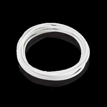 Кабель Ideal Lux CAVO TESSUTO BIANCO (1m) 128849, белый, текстиль