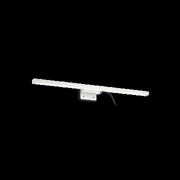 Мебельный светодиодный светильник Ideal Lux EDGAR AP D45 136592 (EDGAR AP49 BIANCO), IP44, LED 5,88W 3000K 400lm, белый, металл, пластик