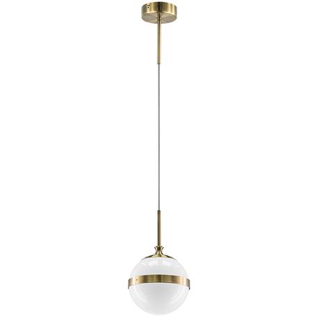 Подвесной светильник Lightstar Globo 813111, 1xE14x40W, бронза, металл, стекло