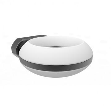 Настенный светодиодный светильник Novotech Kaimas 357404, IP54, LED 12W 3000K 800lm, серый, белый, металл, металл с пластиком, пластик