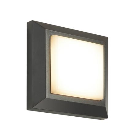 Настенный светодиодный светильник Novotech Kaimas 357419, IP54, LED 3,15W 3000K 32lm, серый, пластик