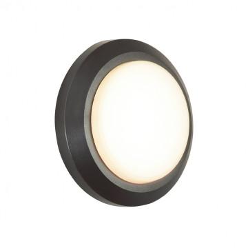 Настенный светодиодный светильник Novotech Kaimas 357420, IP54, LED 3W 3000K 43lm, серый, пластик