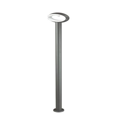 Садово-парковый светодиодный светильник Novotech Kaimas 357406, IP54, LED 7,2W 3000K 390lm, серый, металл, пластик