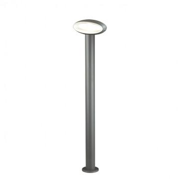 Садово-парковый светодиодный светильник Novotech Kaimas 357406, IP54, LED 7,2W 3000K 390lm, серый, металл, пластик - миниатюра 2