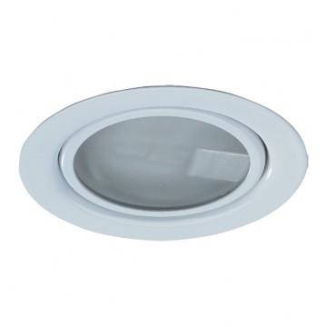 Светильник для рабочей подсветки Novotech Flat 369344, 1xG4x20W, белый, металл, стекло