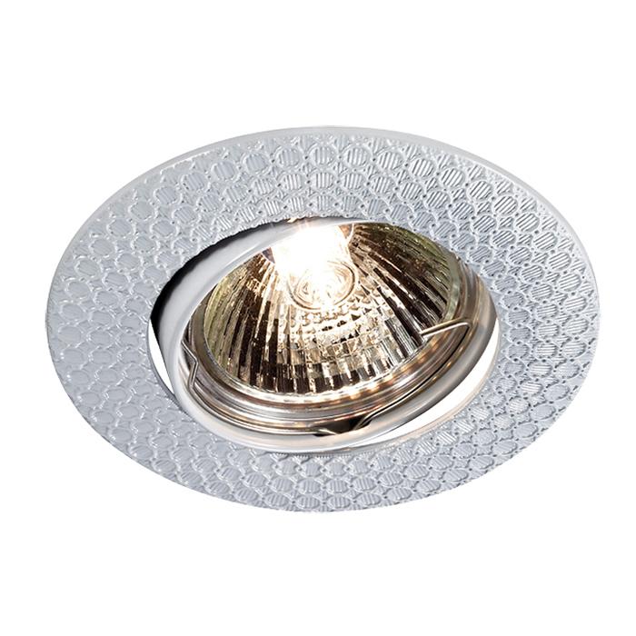 Встраиваемый светильник Novotech Spot Dino 369628, 1xGU5.3x50W, белый, металл - фото 1