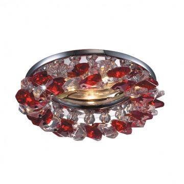 Встраиваемый светильник Novotech Corona 369402, 1xGU5,3x50W, металл, хрусталь