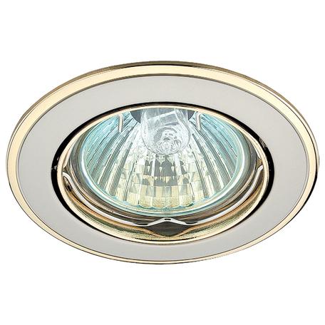 Встраиваемый светильник Novotech Spot Crown 369105, 1xGU5.3x50W, никель, металл