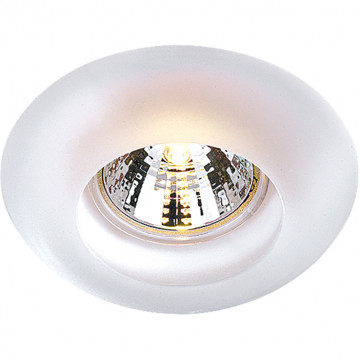 Встраиваемый светильник Novotech Spot Glass 369122, 1xGU5.3x50W, белый, стекло