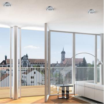 Встраиваемый светильник Novotech Round 369172, 1xGU5.3x50W, никель, прозрачный, металл, стекло - миниатюра 2