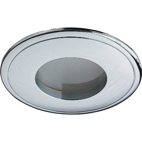 Встраиваемый светильник Novotech Spot Aqua 369303, IP65, 1xGU5.3x50W, хром, металл, стекло