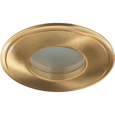 Встраиваемый светильник Novotech Spot Aqua 369304, IP65, 1xGU5.3x50W, золото, металл, стекло