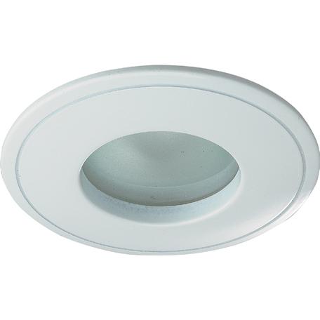 Встраиваемый светильник Novotech Spot Aqua 369305, IP65, 1xGU5.3x50W, белый, металл, стекло